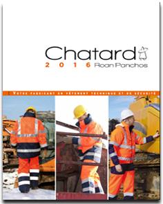 Catalogue Vêtements Haute Visibilité Chatard 2016